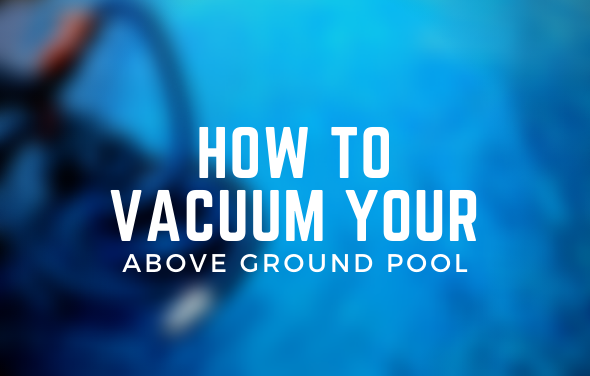 vacuum above ground pool