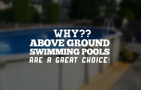 Above Ground Swimming Pools
