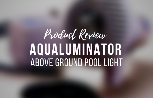 Aqualuminator Above Ground Pool Light
