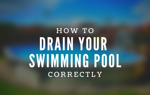 Draining Your Above Ground Pool