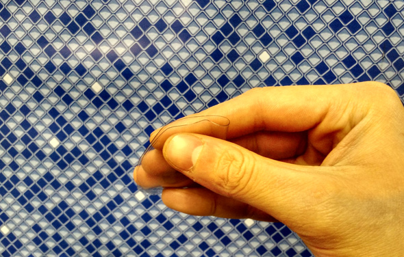 Hydrotools vinyl repair kit installation instructions step 5