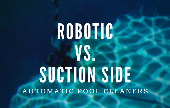 robotic suction side cleaners