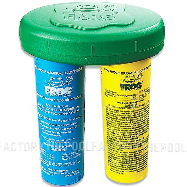 Spa Frog Mineral Floating System Rebate