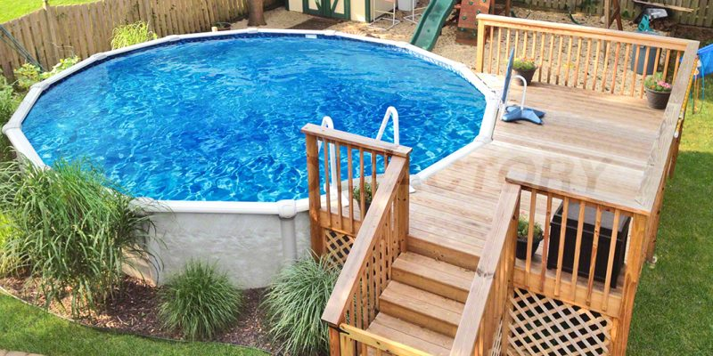 Pool Deck Ideas (Partial Deck) - The Pool Factory