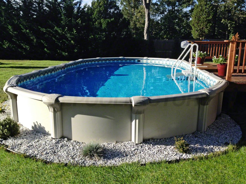 How to purchase an above ground pool the pool factory - Above ground swimming pools reviews ...