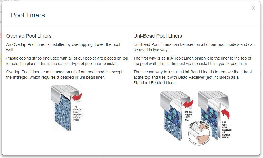 help me choose liner