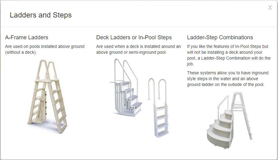 ladders steps