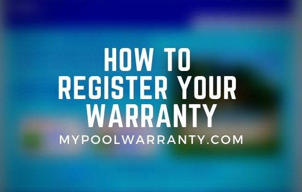 register pool for warranty
