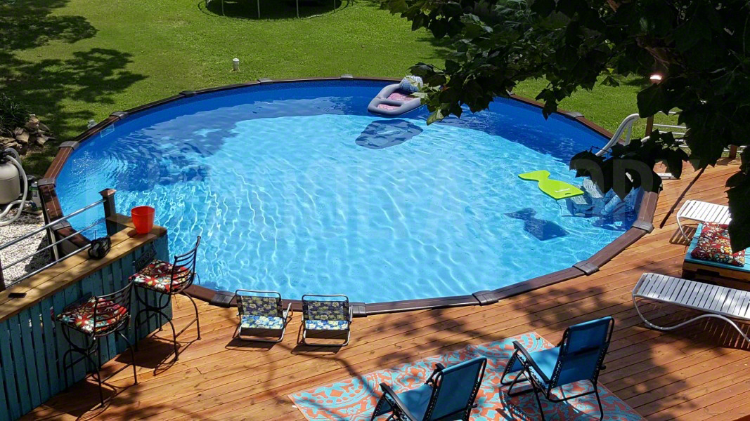 Patio Pool Deck Ideas For Above Ground Pools Marcuscable